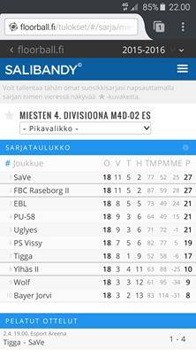SaVe nousi  3. divisioonaan